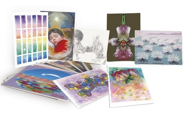 Colección de postales navideñas malagueñas