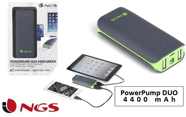 Power Bank DUO 4400 mAh NGS
