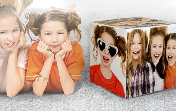 Puff personalizado con tus 6 imágenes preferidas