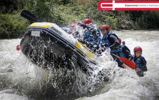 ¡Vive la aventura del Rafting!