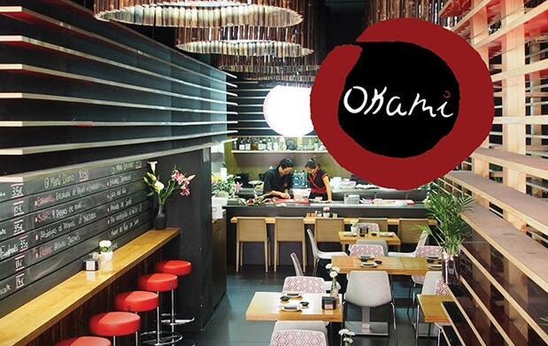 4 tapas 'Ceviche de Berberecho' en Okami