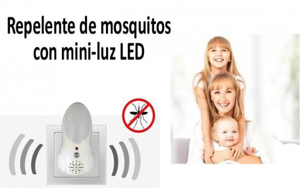 Repelente con Mini Luz Nocturna
