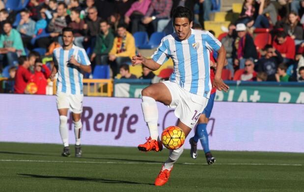 Entrada para Málaga CF-Levante UD en Grada 'Gol Anillo Superior'