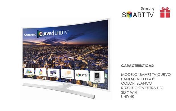 """SmartTV Samsung Curvo LED 40"""""""