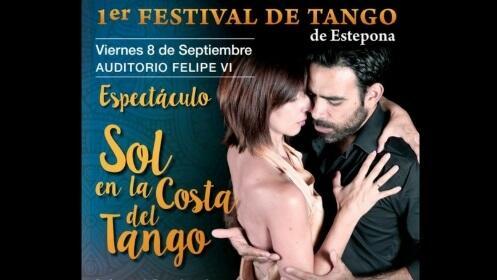 Entrada para 1er Festival de Tango de Estepona: Espectáculo Sol en la Costa del Tango