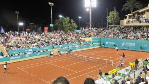 2 invitaciones a la Senior Masters Cup + Menú en La Pesquera