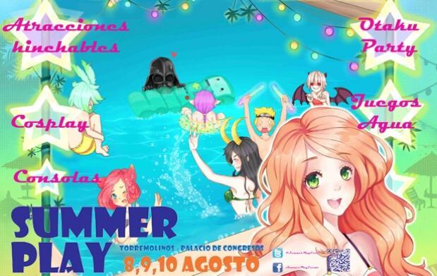 ¡Ven a Summer Play, la fiesta del verano!