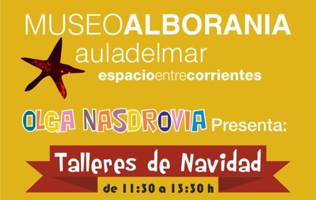 Talleres infantiles de Navidad en Alborania