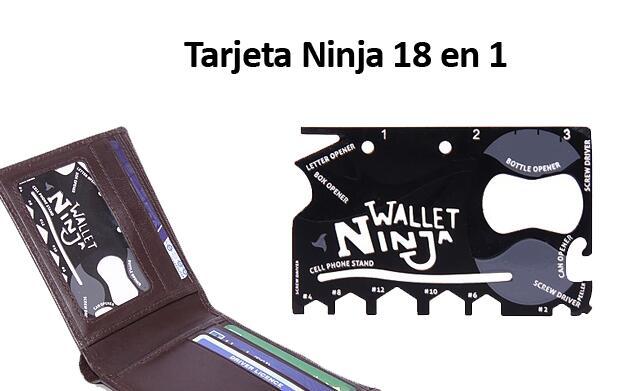 Tarjeta Multiusos Ninja 18 en 1