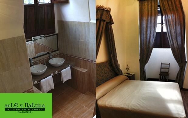 Hotel rural con jacuzzi y lechazo para 2