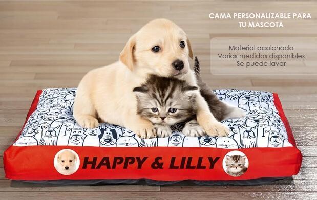 Cama personalizable para tu mascota