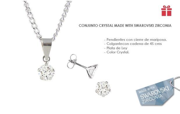 Conjunto Crystal made with Swarovski Zirconia
