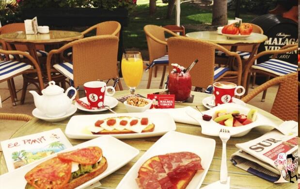 Desayuna con Diario Sur en El Pimpi