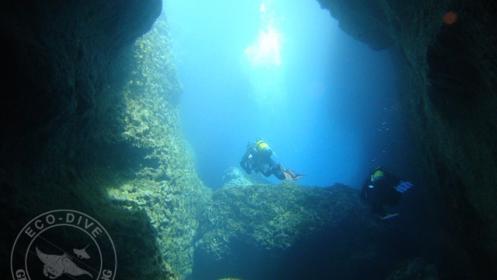 Bautismo de buceo en mar para 1 o 2 personas