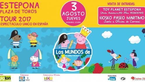 Entrada para 'Los mundos de Peppa Pig y Ben&Holly' en Estepona