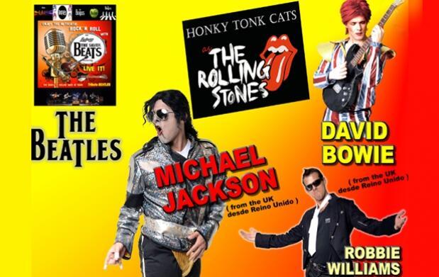 Festival de las Leyendas: The Beatles, Michael Jackson y más