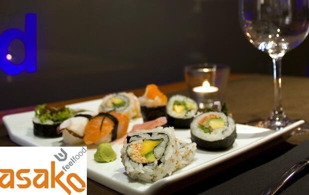 Sushi & fusión para dos en Asako