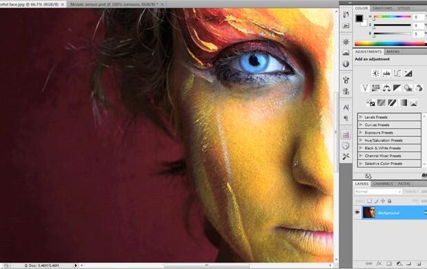 Curso de fotografía + photoShop CS4 online