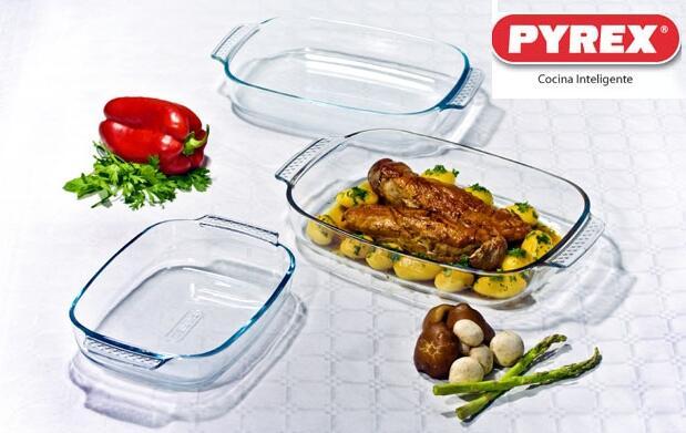 Set de 3 fuentes de Pyrex®