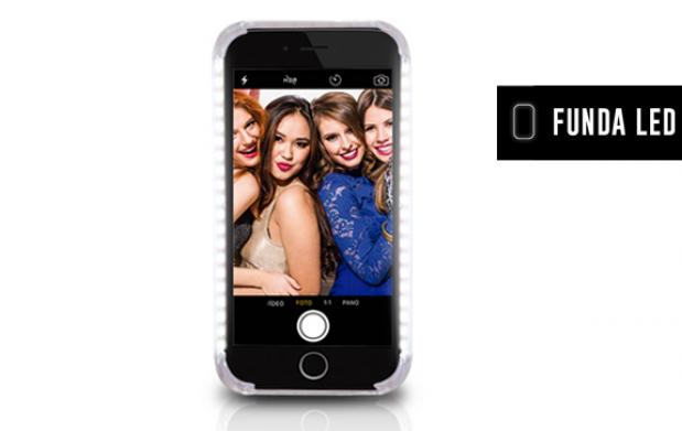 Funda Led, ¡selfies perfectos y más!