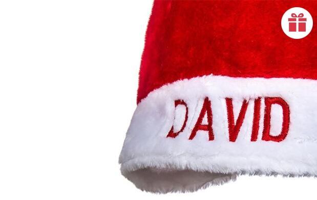 Gorro de Papá Noel Personalizado