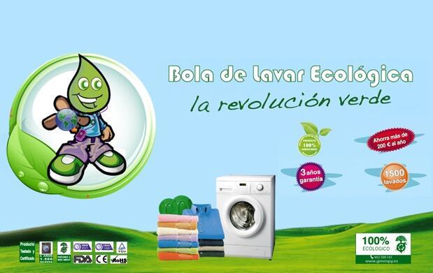 Greenpy: bola de lavar ecológica