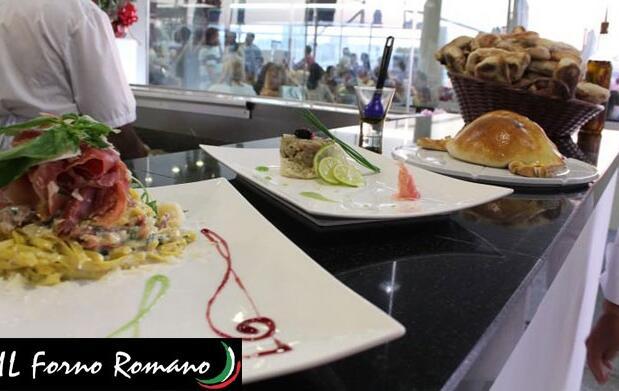 Auténtica comida italiana casera para 2