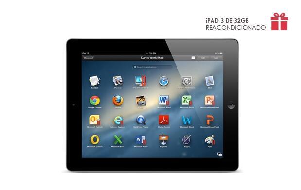 iPad 3 de 32 GB - Reacondicionado