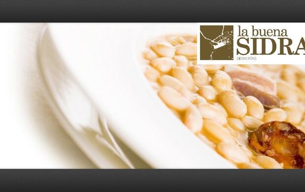 Menú asturiano para 2 en La Buena Sidra