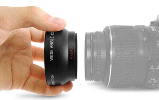 Wide angle and macro lens