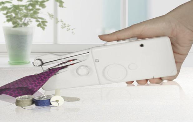 Máquina de coser de mano