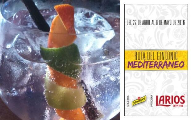 2 Gin-Tonics en Chiringuito Marina