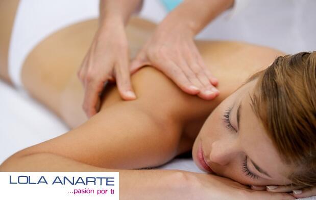 Relájate con un masaje por solo 7,5€