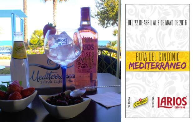 2 Gin-Tonics en Mediterráneo Playa