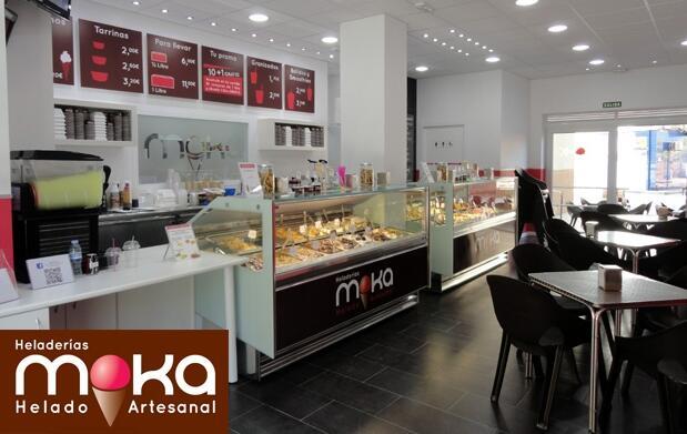 Litro de helado en Moka por 4,95 euros