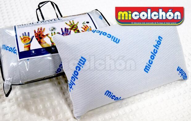Almohada de Viaje de alta calidad, fabricada en la UE