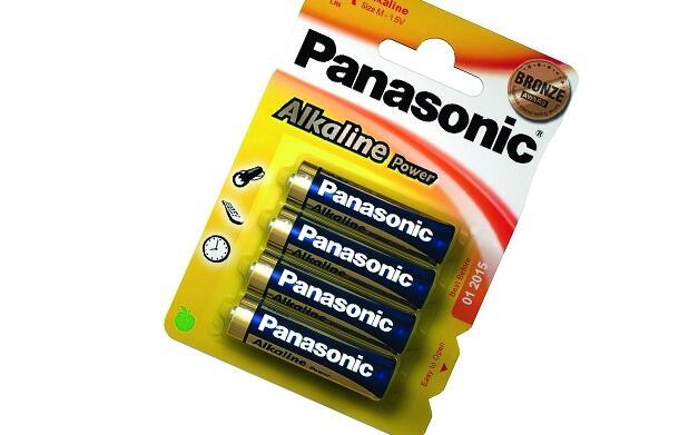 96 pilas alcalinas Panasonic