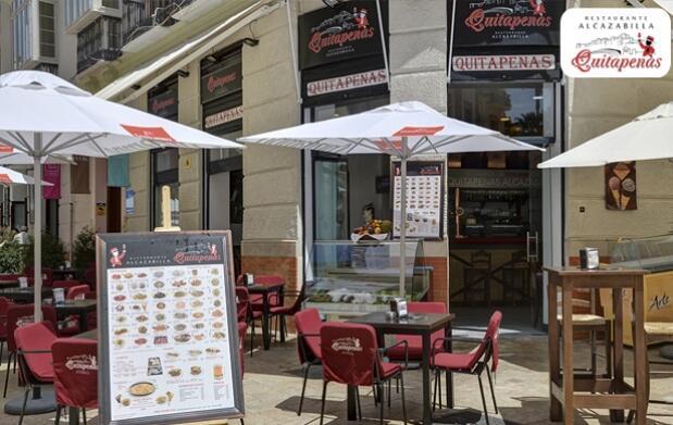 Picoteo para 2 en el centro de Málaga