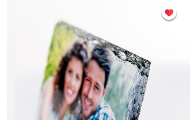 Maravilloso marco de piedra para el día de los enamorados