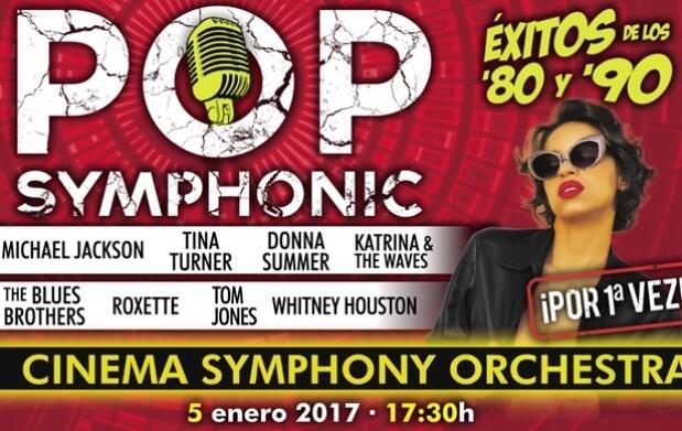Invitación a Pop Symphonic + Menú en El Fogón del Alcázar