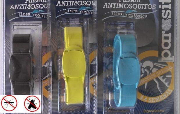 Pulsera antimosquitos