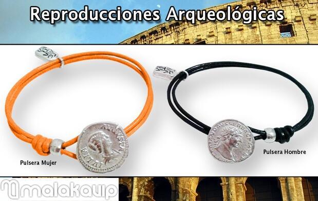 Pulseras arqueológicas para él y para ella