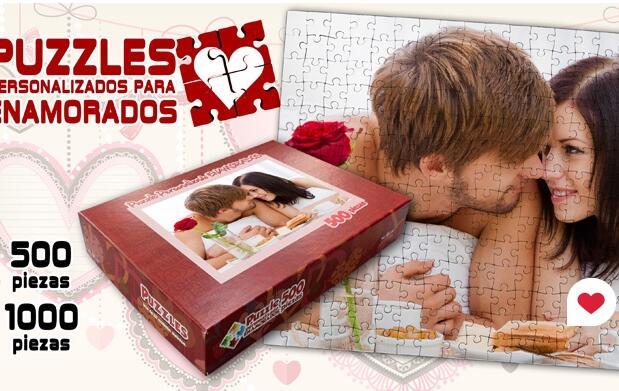 Puzzle personalizado por San Valentín