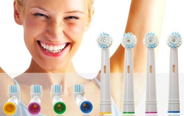 Pack de 8 recambios para tu cepillo de dientes eléctrico