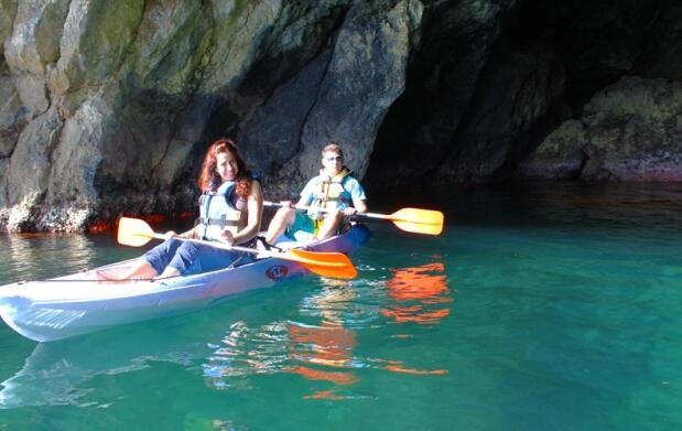 Excursión martítima en KayaK