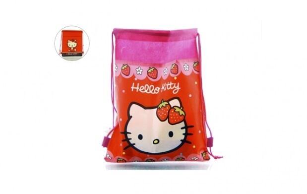 Mochila saco de Hello Kitty