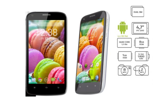 Smartphone libre Capture G47