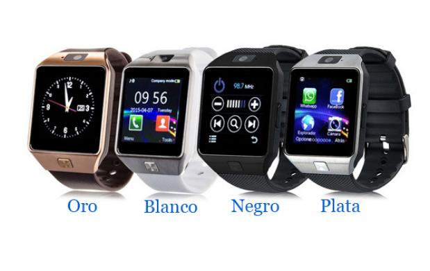Smartwatch 2.0 con SIM y MicroSD