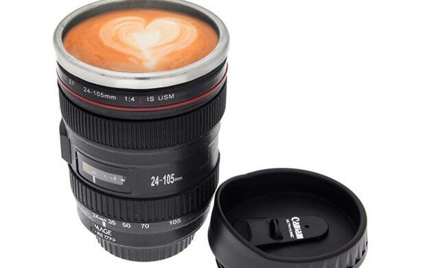 Taza de café: cámara