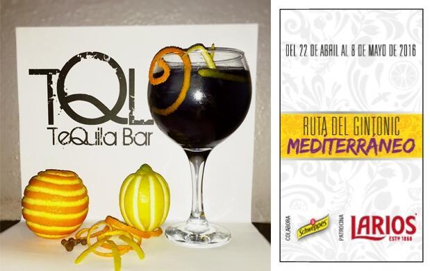 2 Gin-Tonics en Bar Tequila